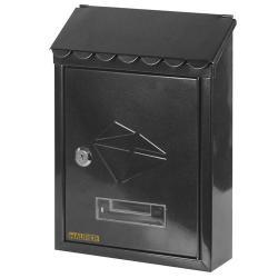 Buzón Maurer Exterior 21x30x6,8 cm. Negro - Imagen 1