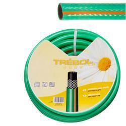 """Manguera Verde Trebol Trenzado 25 mm. - 1"""" Rollo 50 metros - Imagen 1"""