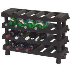Botellero Vino Apilable 20 Botellas 4 estantes - Imagen 1