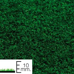 Cesped artificial 10 mm. superficies pequeñas Rollo 2x25 metros - Imagen 1