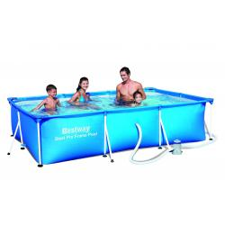 Piscina PVC Pared Rectangular 1200L Bestway - Imagen 1