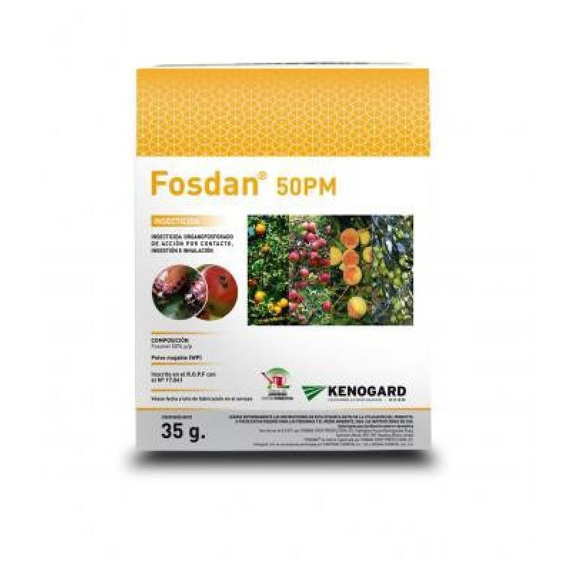 Fosdan Insecticida Contacto 50PM 35 Grs - Imagen 1