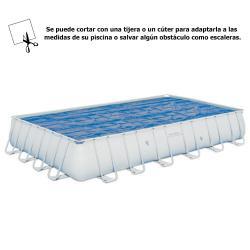 Cobertor Solar Para Piscina Rectangular 732x366 cm. - Imagen 1